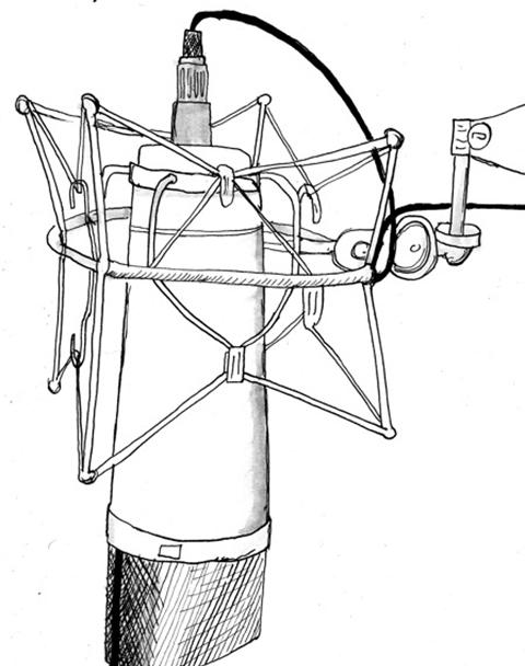 Microphone-illustration