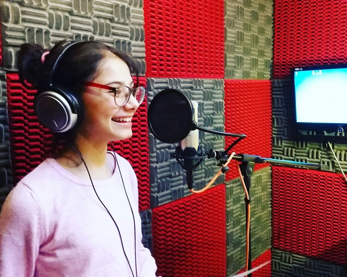 helin voicing in istanbul.